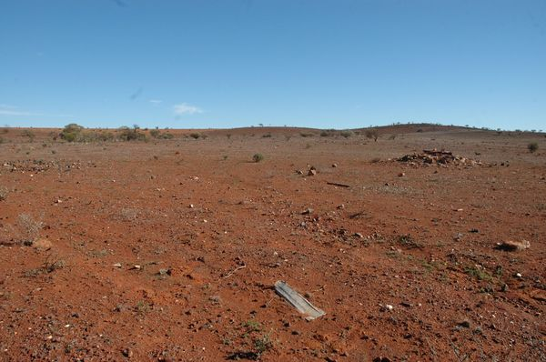 Not much left at Gullewa