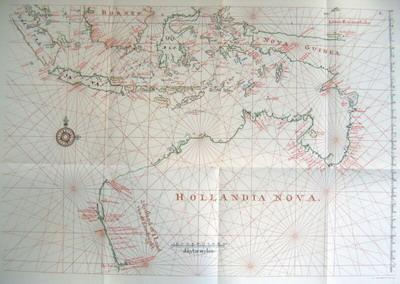 Early mapping of Australia
