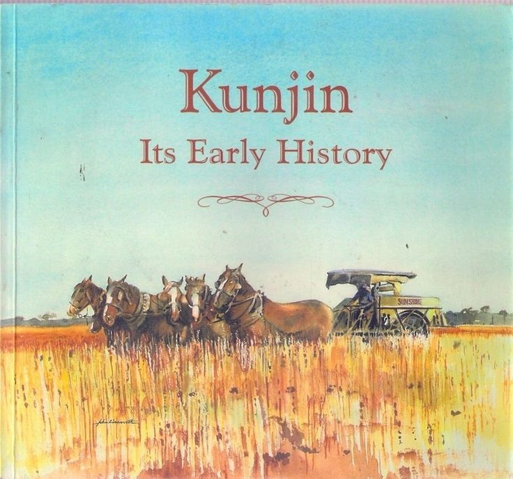 Kunjin its early history.