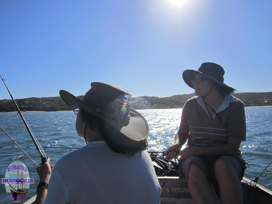 Fishing on the Murchison River