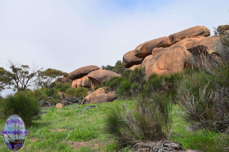 Kokerbin Rock Bruce Rock Shire Western Australia Www