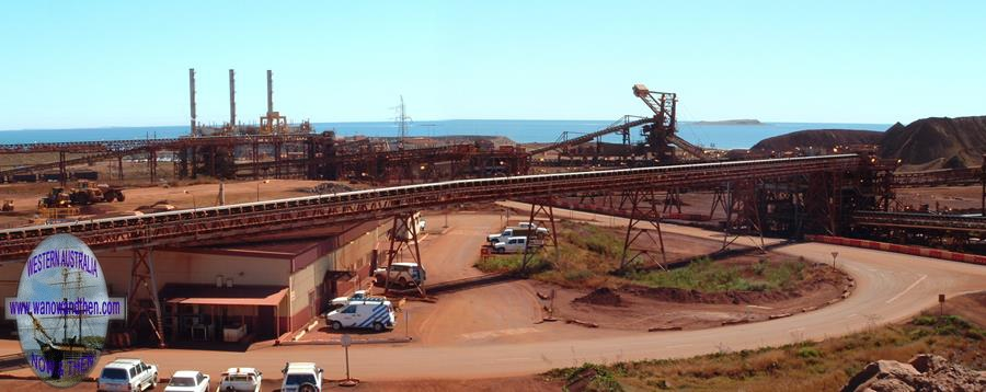 Iron Ore at Cape Lambert - Western Australia