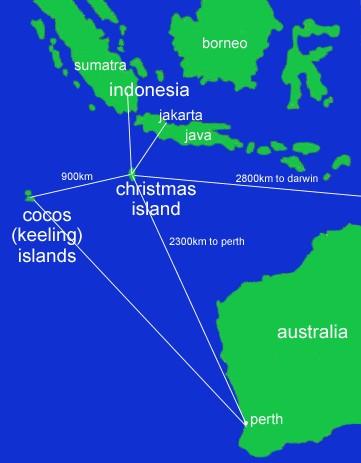 COCOS ISLAND Western Australia Wwwwanowandthencom - Cocos islands map