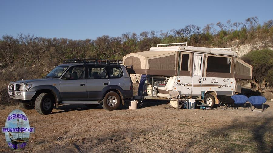 Toyota Prado and Jayco Swan Outback