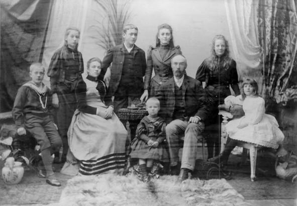 C.Y. O'Connor and family 1891.