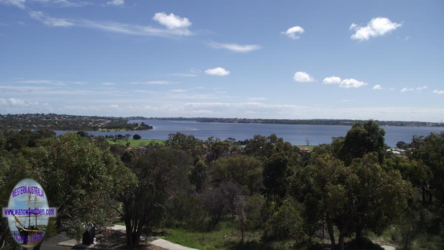 Swan River from Wireless Hill