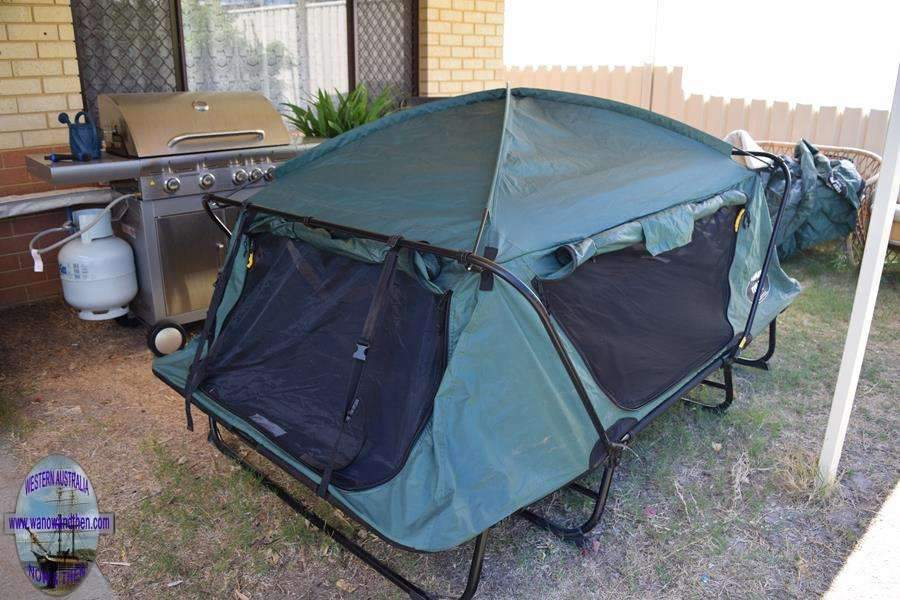 K& Rite Tent Cot - Double & CAMPING PRODUCT REVIEWS - TENTS AWNINGS AND SHELTERS | Western ...