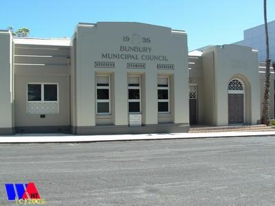 Bunbury Old council building