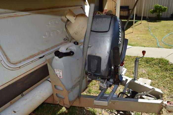 Outboard Motor Carrier : Caravan modifications western australia