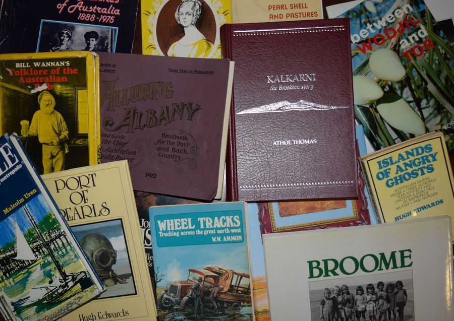 Books and journals about Western Australia