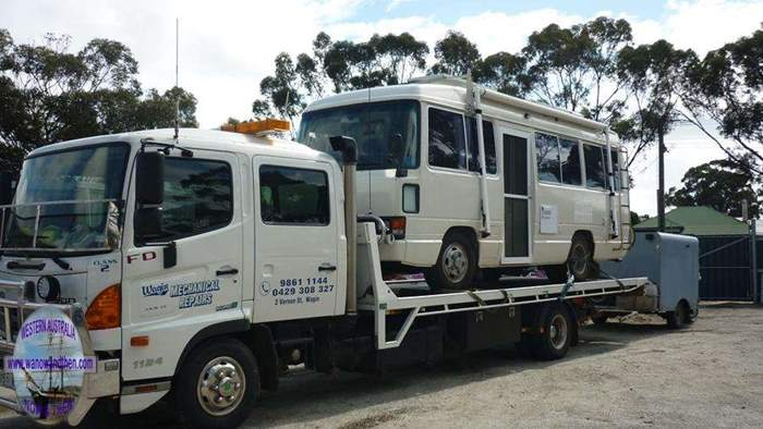 TOYOTA COASTER MOTORHOME | Western Australia | www wanowandthen com